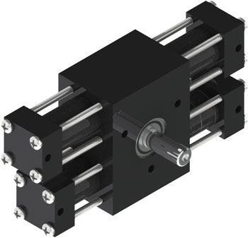 A12 Rotary Actuator Product Image