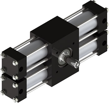A22 Rotary Actuator Product Image