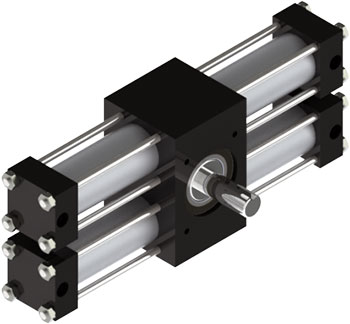 A32 Rotary Actuator Product Image