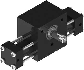 Small, highly configurable and dependable A1 rotary actuator