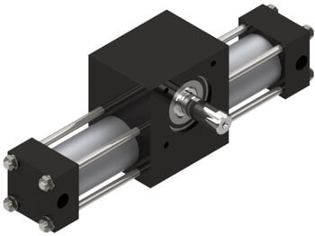 A2 Rotary Actuator Product Image
