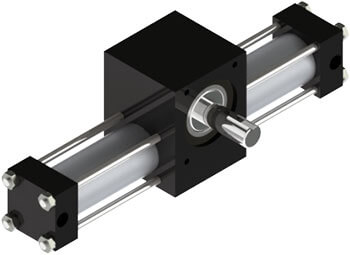 A3 Rotary Actuator Product Image