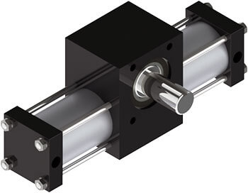 A4 Rotary Actuator Product Image