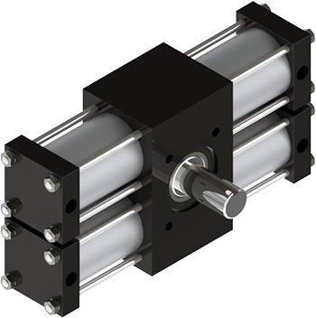Rotomation A42 three-position actuator is extremely configurable, simple to operate to make it rotate to any position from any starting position in any direction in any sequence