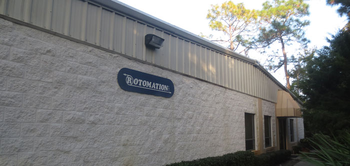 Rotomation headquarters in Ormond Beach, FL