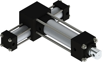 Rotomation PA2 Pick & Place Actuator is a rugged multi-motion actuator that features added linear motion with combined independently-controlled rotary motion
