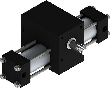 Robust, fast, reliable, X2 Indexing Actuator